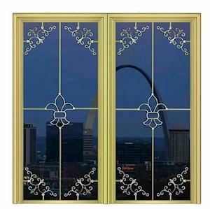 شیشه دوجداره جورجین بار و شیشه دوجداره تزئینی