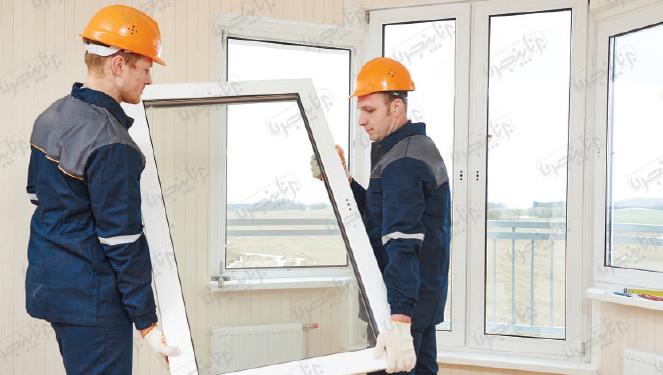 تعویض درب و پنجرههای قدیمی بدون نیاز به تخریب