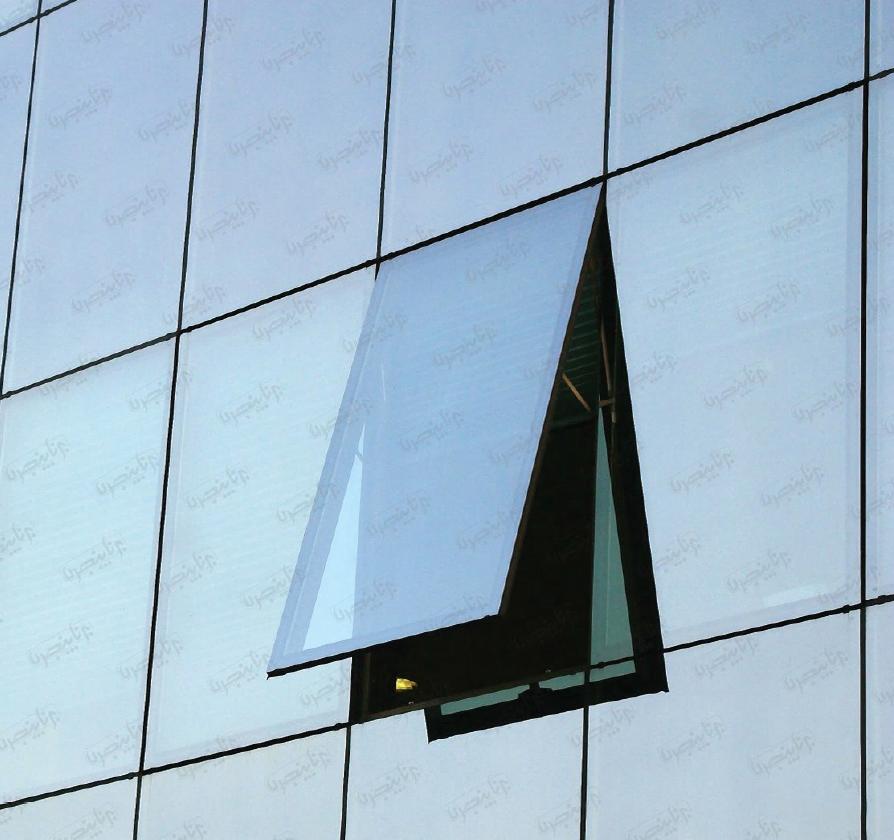 نمای شیشهای فریم لس