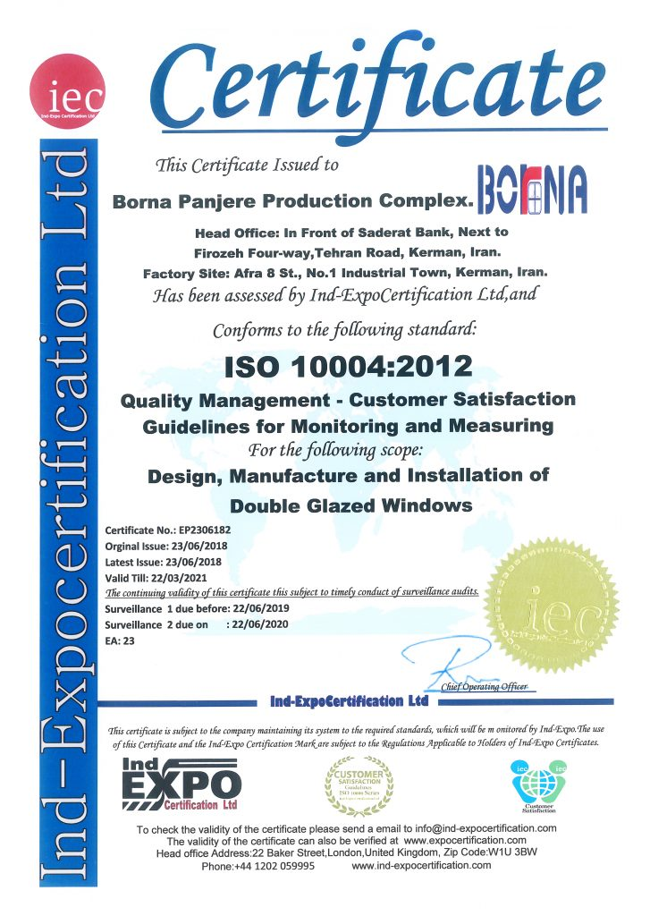 ISO 10004 : 2012