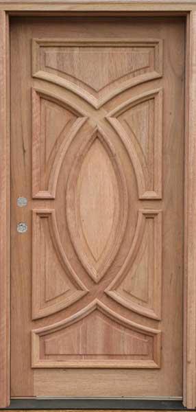 درب های تمام چوب