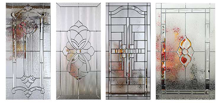 طرح هایی از شیشه سندبلاست