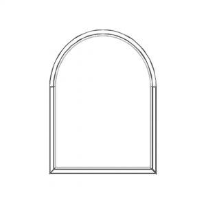 پنجره UPVC ساده سایز 1123*1419