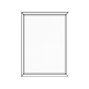 پنجره UPVC ساده سایز 941*1141