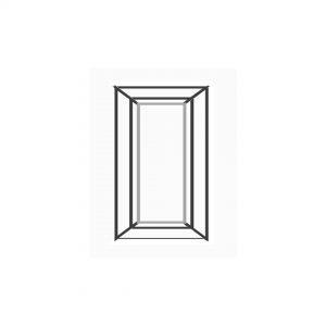پنجره UPVC ساده سایز 548*244