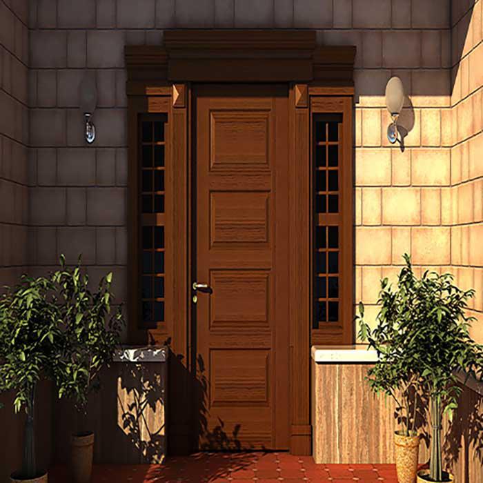 سبک معماری درب ورودی ساختمان