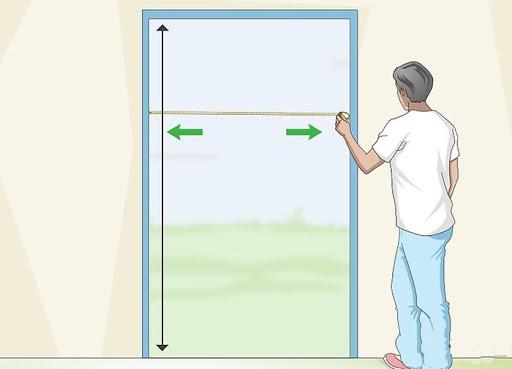 اندازه درب ورودی