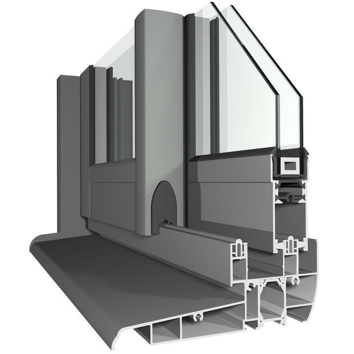 درب و پنجره دو جداره کشویی