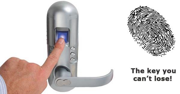 قفل درب اثر انگشتی